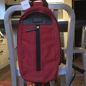 Nwt coach crossbody backpack